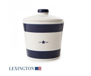 Lexington Zuckerdose blau