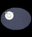 Chilewich Tischset Mini Basketweave oval indigo