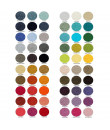 Abyss & Habidecor Farbkarte 60 Farben