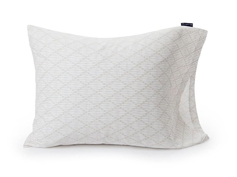 lexington bettw sche set summer printed sateen in beige wei. Black Bedroom Furniture Sets. Home Design Ideas