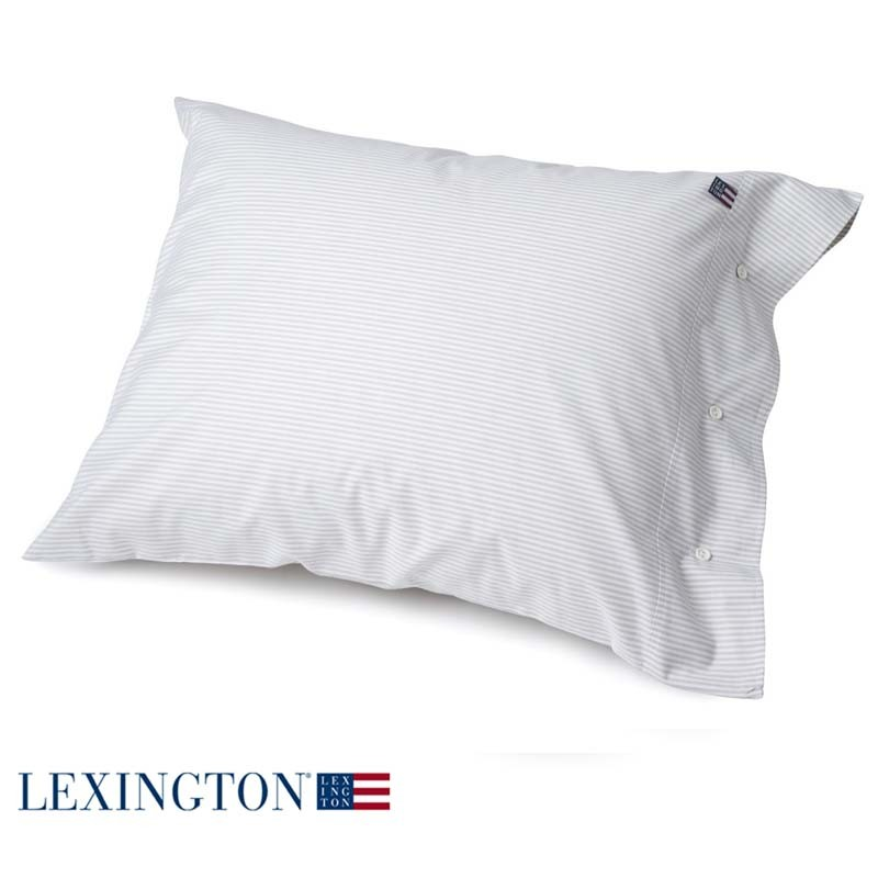lexington bettw sche authentic pin point oxford beige wei. Black Bedroom Furniture Sets. Home Design Ideas