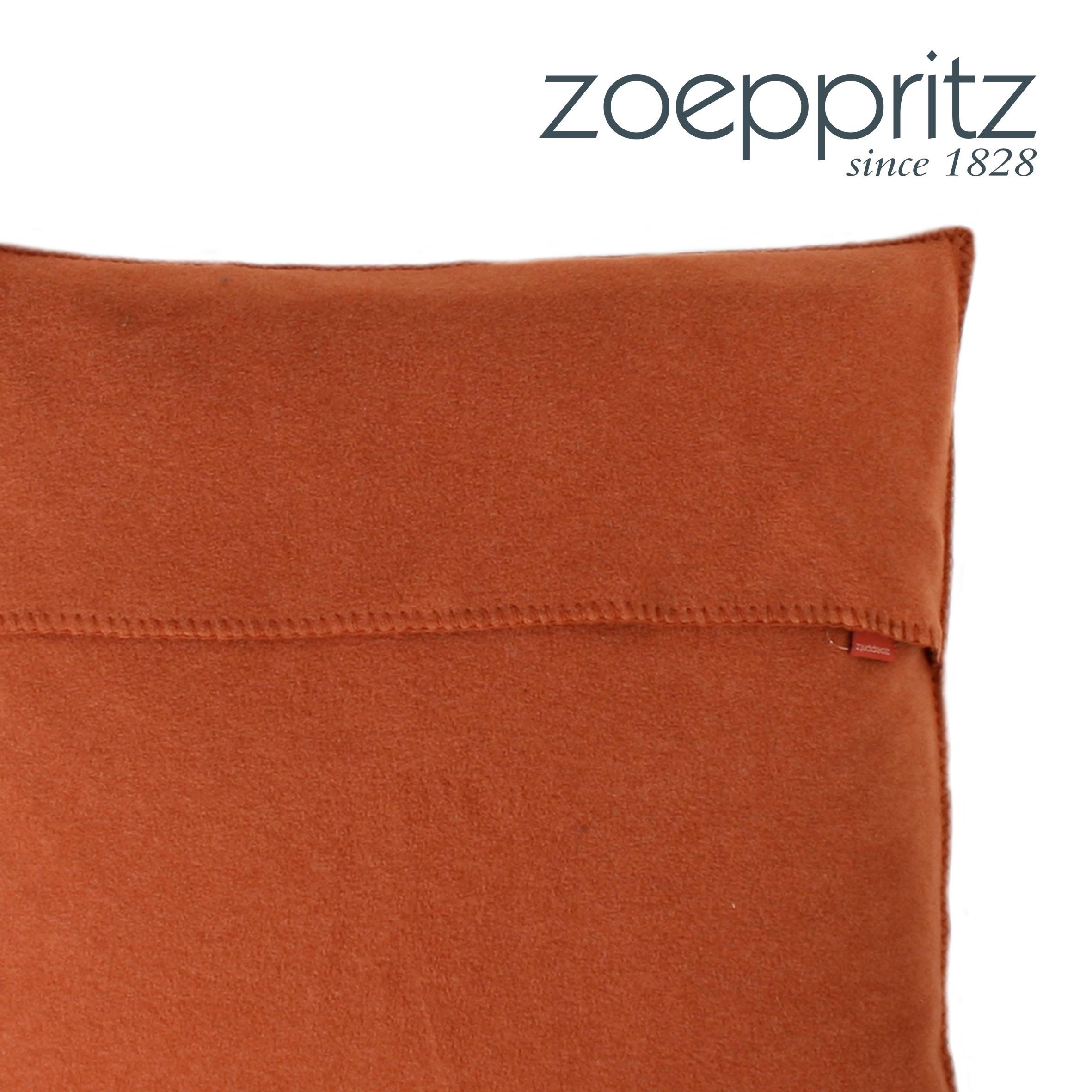 zoeppritz dekokissen soft fleece holz. Black Bedroom Furniture Sets. Home Design Ideas