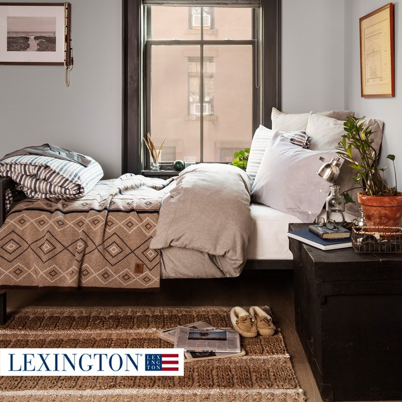 lexington bettw sche chambray flannel. Black Bedroom Furniture Sets. Home Design Ideas